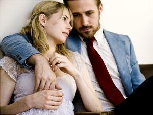Michelle Williams with Ryan Gosling in Blue Valentine
