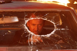 Nicholas Cage in Drive Angry 3D