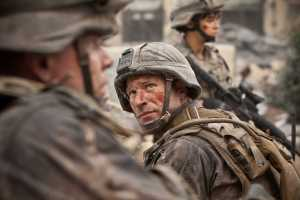 Aaron Eckhart in Battle Los Angeles